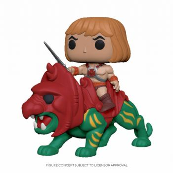 Funko Pop! Vinyl Rides Masters of the Universe He-Man on Battle Cat Figure - Pre-Order